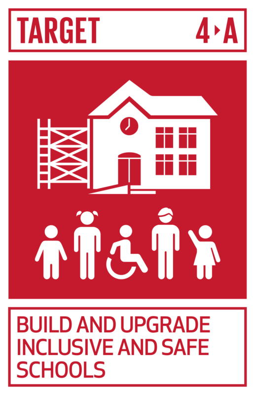 Target 4A: Build and upgrade inclusive and safe schools