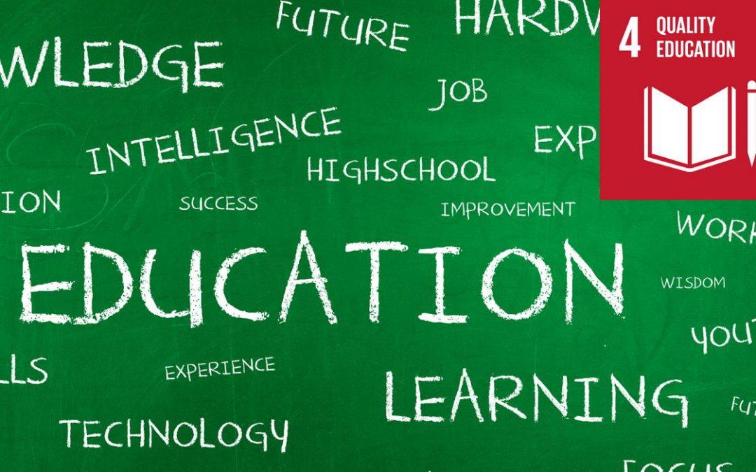 Die Geschichte des SDG 4: Hochwertige Bildung