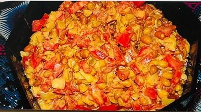 Tansanias beliebteste Gerichte - Erdnuss-Salat