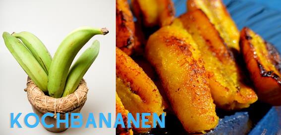 Tansanias beliebteste Gerichte - Kochbananen