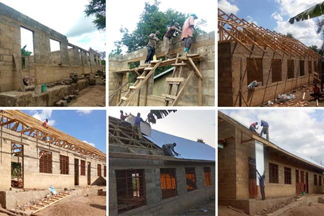 construction site ntungamo primary school galery