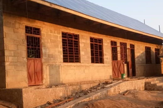 construction site ntungamo primary school ready