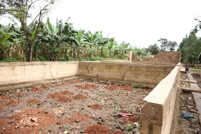 construction site ntungamo primary school