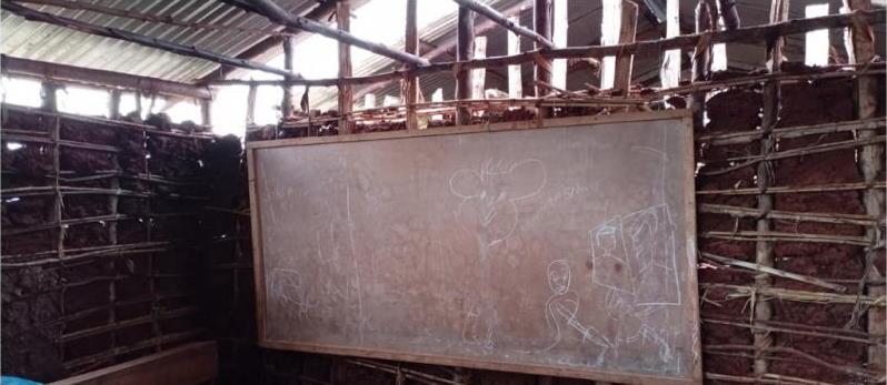 Rulama Primary School class room